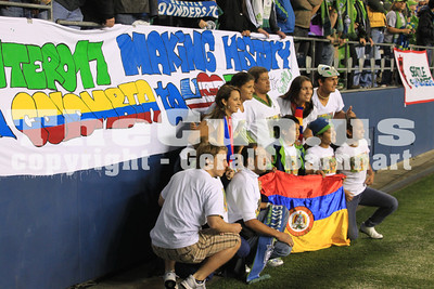 2011 US Open Cup FINAL - Seattle Sounders post-game celebration