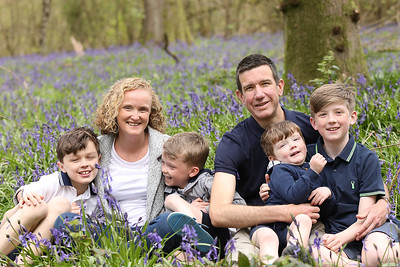 Catherine & Joel's Bluebell Session