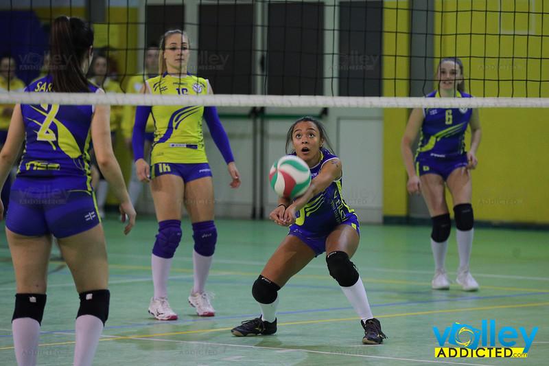 VIRTUS CERMENATE 1 - VOLLEY SEGRATE 1978  3 Serie D Femminile 2019/20 Lombardia - 13^ Giornata Cermenate (CO) - 25 gennaio 2020