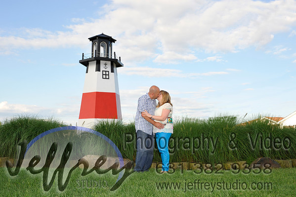 Colleen & Mike - Kings Park Bluff - July 30, 2013