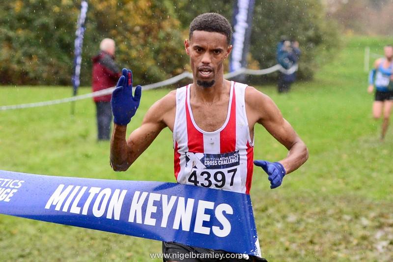 British Athletics Cross Challenge 9 November 2019 at Milton Keynes, Bedfordshire, United Kingdom