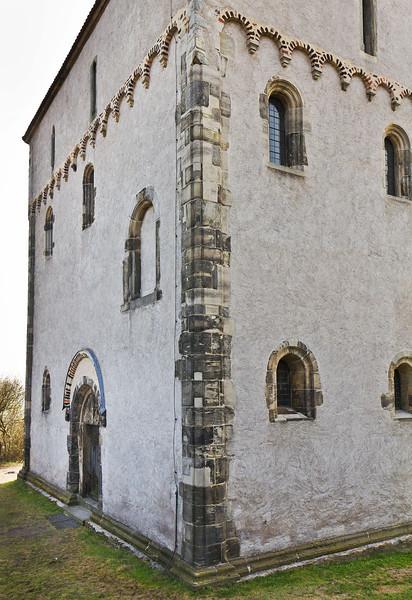 Landsberg/Saale, Doppelkapelle. Ansicht von Nordwest