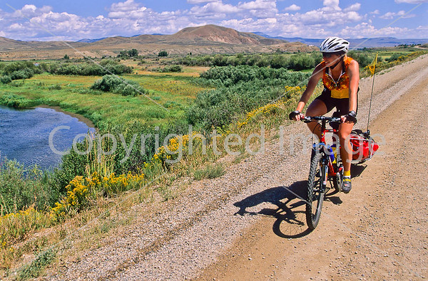 Rider on Great Divide/Great Parks South Route
