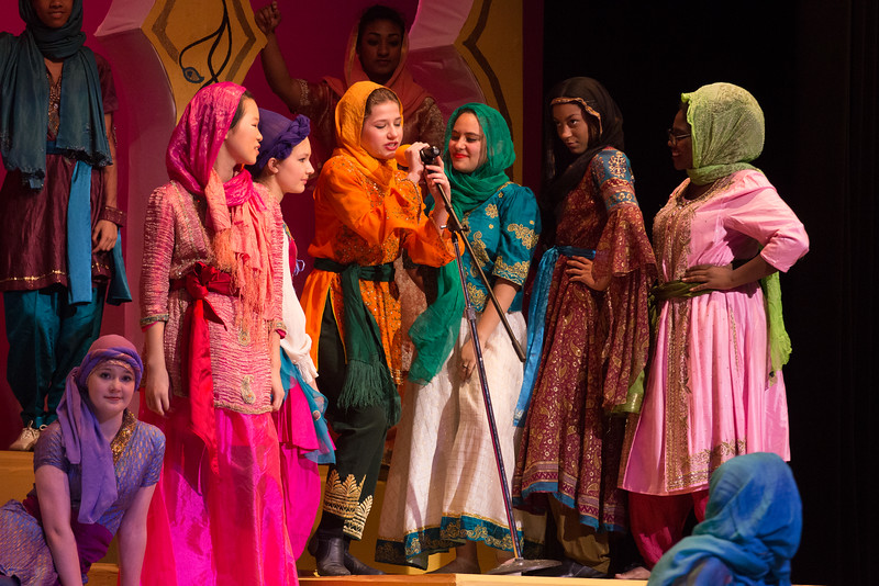 """Rahadlakum"" -- Kismet, Montgomery Blair High School spring musical, April 15, 2016 performance (Silver Spring, MD)"