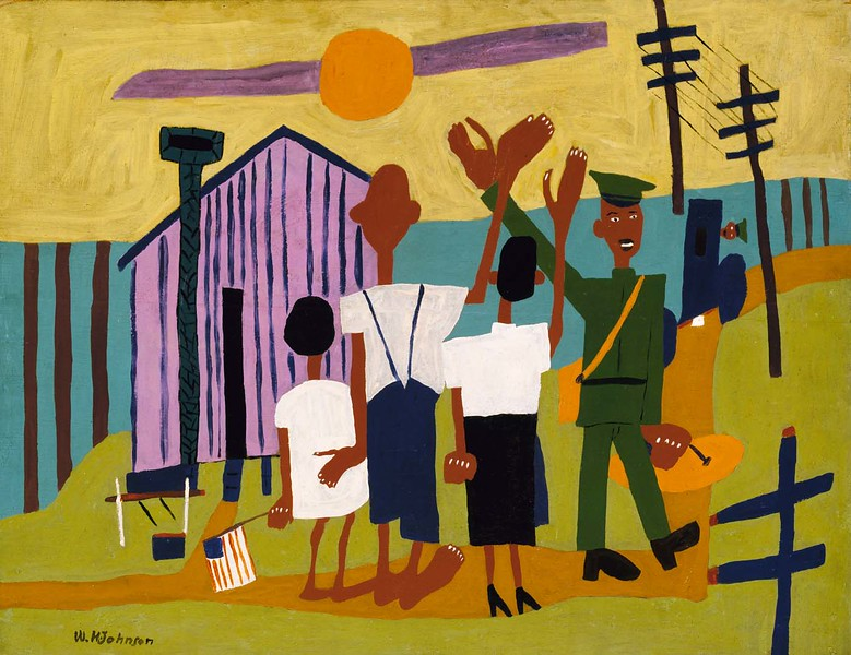 "William H. Johnson, ""Off To War"" (1942-44)"