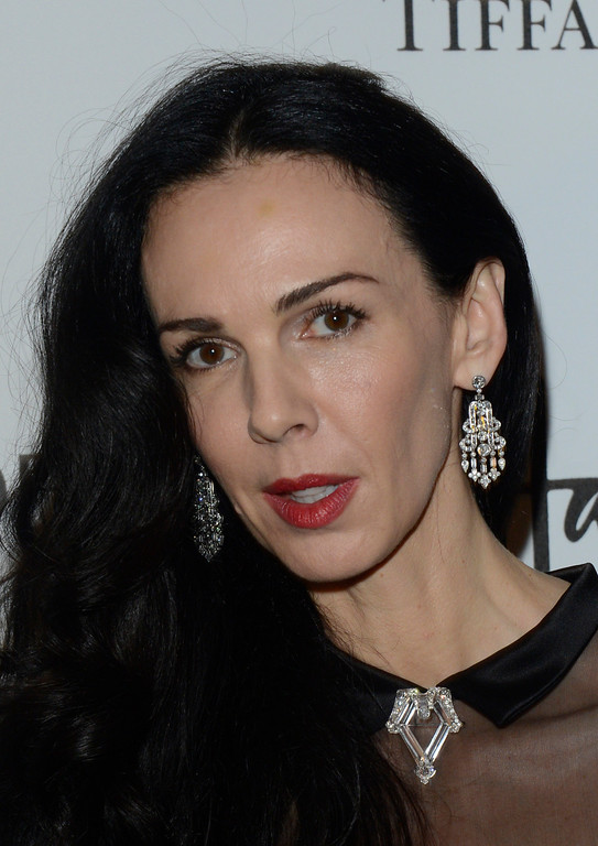 . L\'Wren Scott is seen at the Harper\'s Bazaar Woman of the Year Awards 2012 in association with Estée Lauder, Harrods and Tiffany & Co. at Claridge\'s Hotel on Wednesday, Oct. 31, 2012 in London. (Photo by Jon Furniss/Invision for Harper\'s Bazaar)