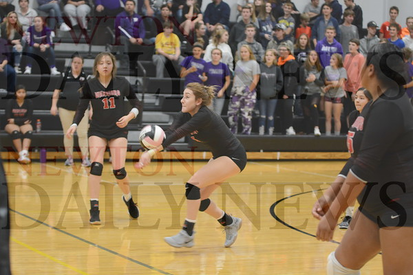 Baxter Volleyball vs. Meskwaki Settlement 10-16-18