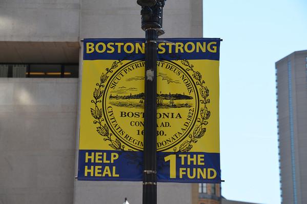 Copley Plaza Boston Marathon Memorial #BostonStrong and Watertown area