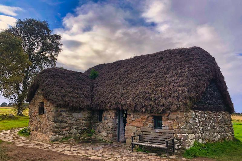 Stone House, Culloden Battlefield, Inverness, Scotland