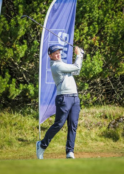 GR, Hákon Örn Magnússon Íslandsmót í golfi 2019 - Grafarholt 2. keppnisdagur Mynd: seth@golf.is