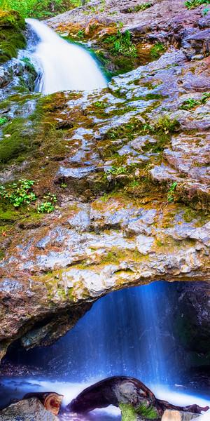 Donut Falls II, Big Cottonwood Canyon, Utah