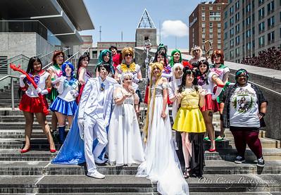 Animazement 2016 Sailor Moon (Friday)