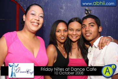 Dance Cafe - 10th October 2008
