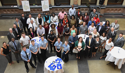 City hosts  opening reception for summer interns. 6/28/2017