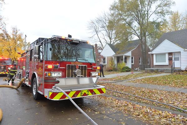 Dearborn - House Fire- Denwood