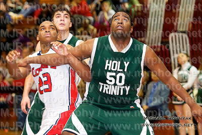 Holy Trinity Vs St Johns, Boys Varsity Basketball 02.22.11
