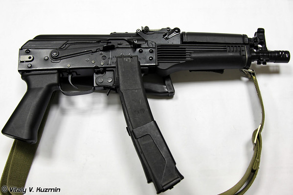 PP-19-01 Vityaz submachine gun
