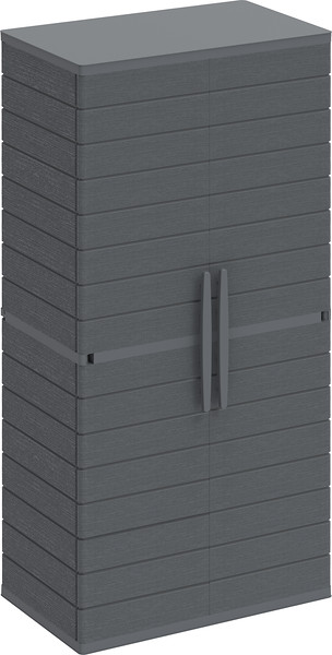 Vertical Cabinets Tall #2 Grey