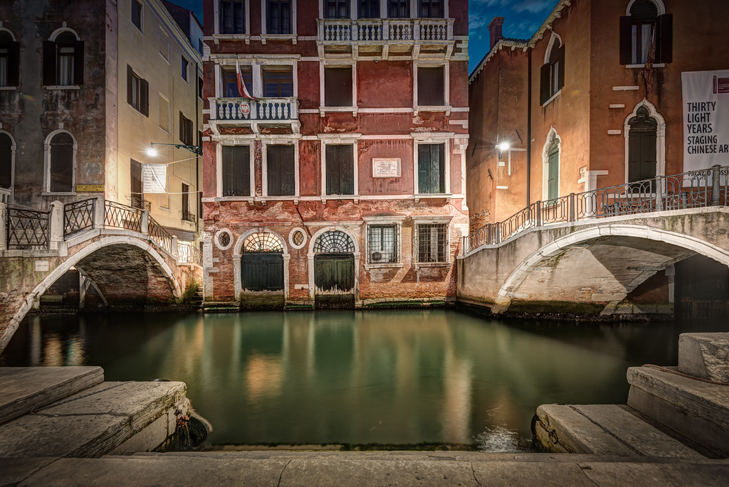 Venice Double Bridge