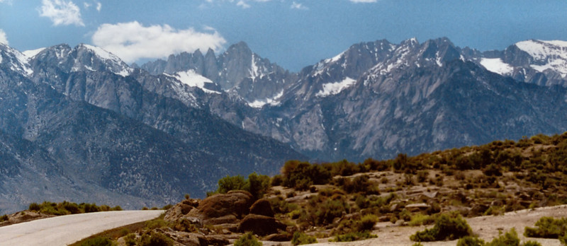 (2001  July 14-16) Mt. Whitney and Mt. Muir via Mountaineer's Route.  Inyo NF, California.