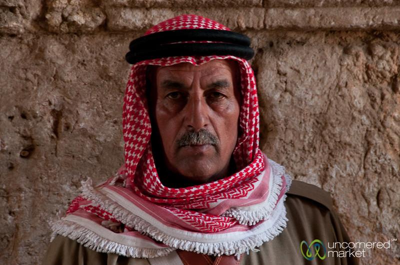 Musician at the Citadel in Amman, Jordan