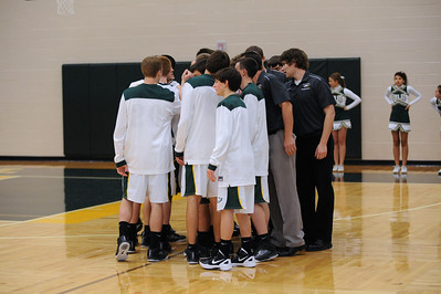 Boys Varsity Basketball - Carroll 2011-2012