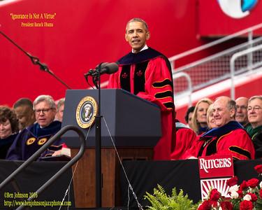 2016 Rutgers University Commencent Address by President Barack Obama