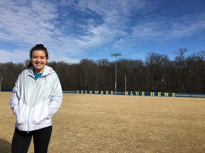 Jan. 27: Delaware Soccer Camp, Towson, Maryland (seeing Alli Miller)