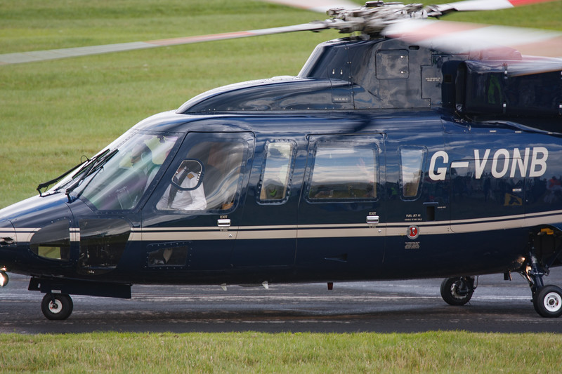2008, C/N 76-0399, G-VONB, HM Queen Elizabeth II, Helicopter, RIAT 2008, Royal Flight, S-76B, Sikorsky - 11/07/2008@15:09