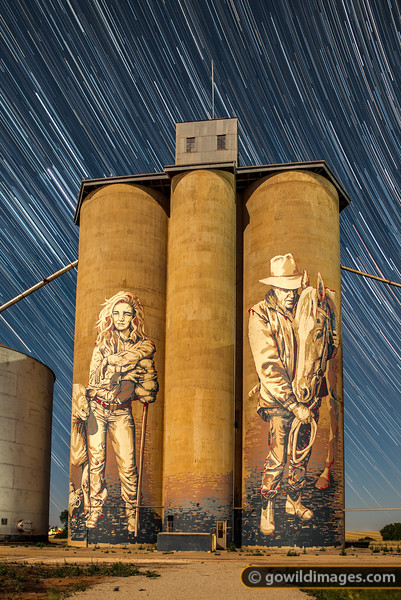 Silo Star Trail