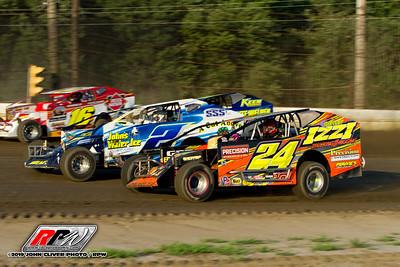 Bridgeport Speedway - 7/13/19 - John Cliver