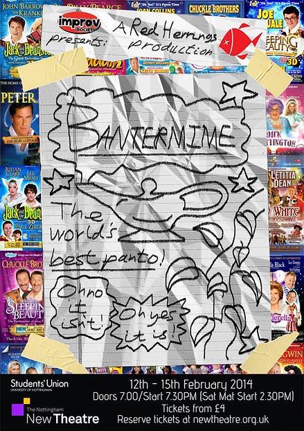 Bantermime poster