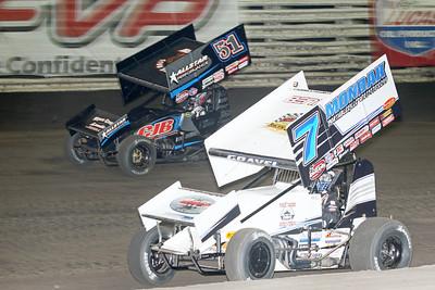 Knoxville Raceway 8/12/15 - Dick Ayers Photos