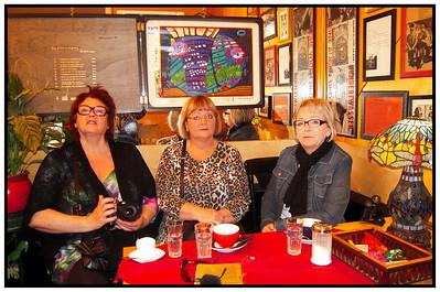 Vala, Sigga, Didda, Bryndis Wien 2012