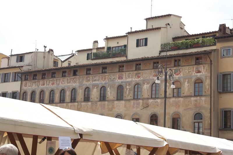 Santa Croche square, Florence