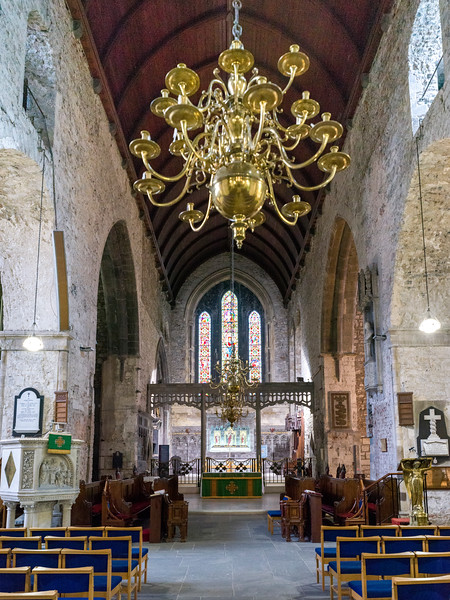 Interiors of St. Mary's Cathedral, Kings Island, Limerick, County Limerick, Ireland