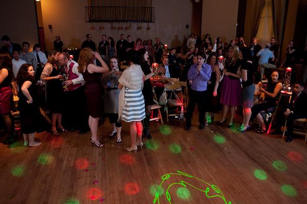 Erin and Keoki Reception Dancing