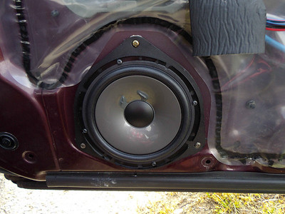1992 Subaru SVX Front Door Speaker Installation - Switzerland
