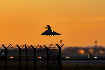 RAF Scampton & RAF Coningsby Visit 20-1-2020