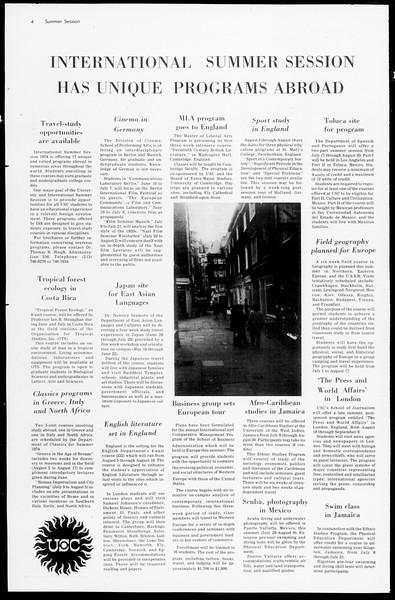 Daily Trojan, Vol. 66, No. 90, March 14, 1974