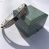 Vintage Onyx and Antique Diamond Bangle 14