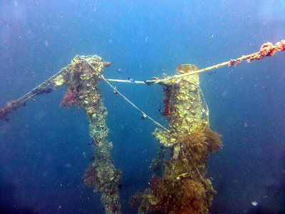 Post WWII Wreck - Hafa Adai Ferry