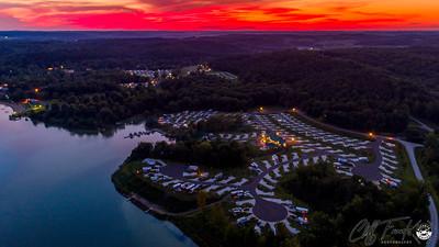 Atwood Lake Sunset 8-11-2019