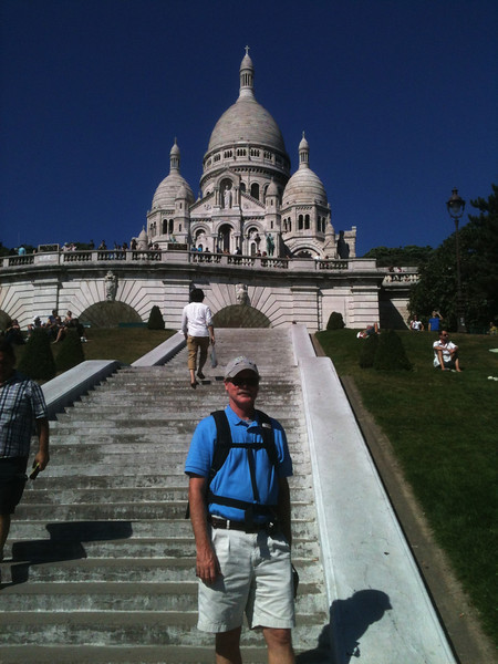 At Sacre Coeur.