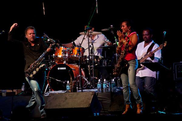 Guitars & Saxes Concert 2009