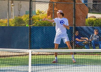 2021-04-13 Dixie HS Tennis vs Desert Hills - JV