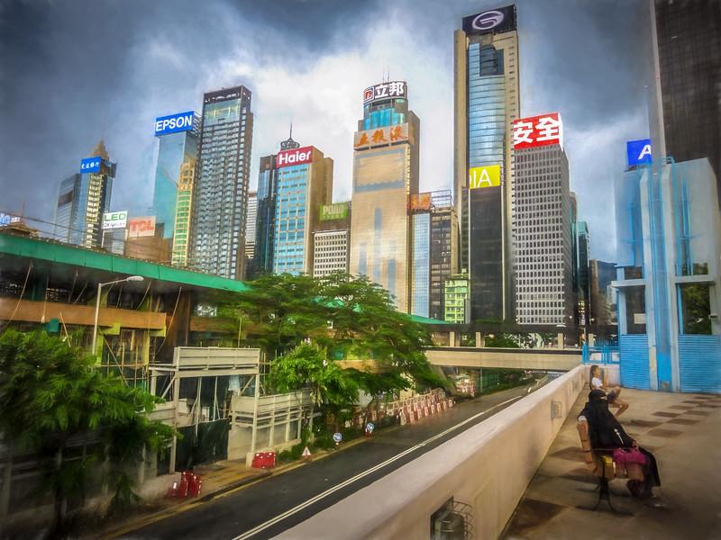 Slice of HK life at Wan Chai.
