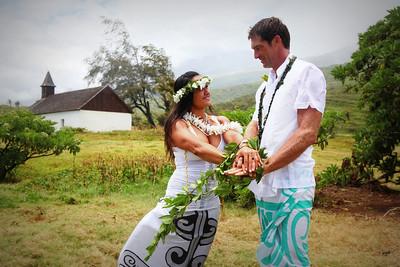 Luicini & Matt's Wedding Kaupo May 5 2011