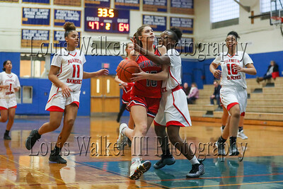 Girls Basketball Portsmouth vs Juanita Sanchez on 12/27/19