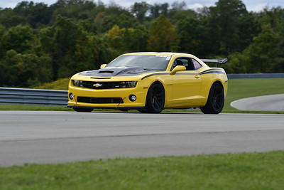2021 SCCA TNiA  Sep 23 Pitt Adv Yellow Camaro